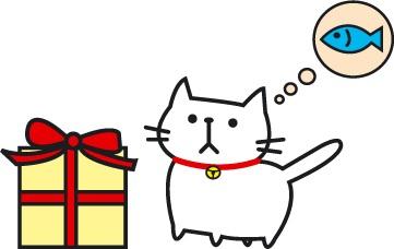 箱考える猫