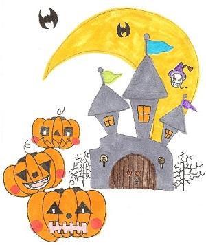 古城とかぼちゃ