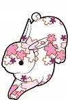 花ウサギピンク
