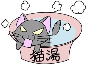 猫湯キライ